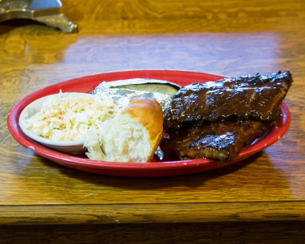 Brandons BBQ & Grille Baby Back Ribs