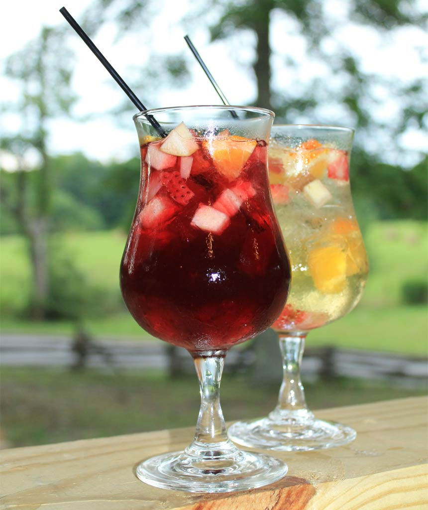 Ruby Sangria Recipe — Dishmaps