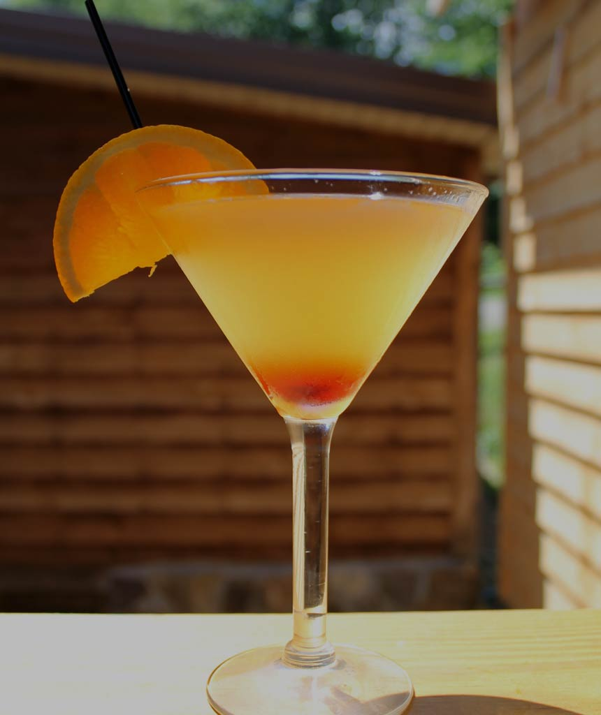 Brandon's BBQ & Grille Summer Fling Martini